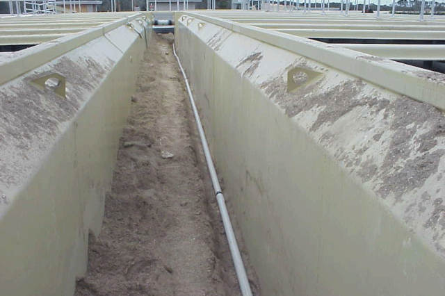 WASTEWATER PACKAGE TREATMENT PLANT PARTIALLY BURIED